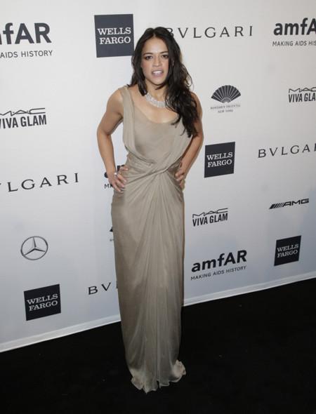 Michelle Rodriguez peor amfAR 2014