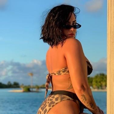 Tengo celulitis y no me importa: el mensaje bodypositive de Demi Lovato que se ha hecho viral en cuestión de horas