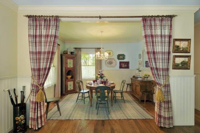 Pon cortinas en tu vida - Cortinas de comedor ...