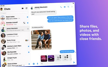 Facebook Messenger Macos 1