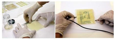 El transistor electrocrómico acerca un poco más el papel electrónico flexible