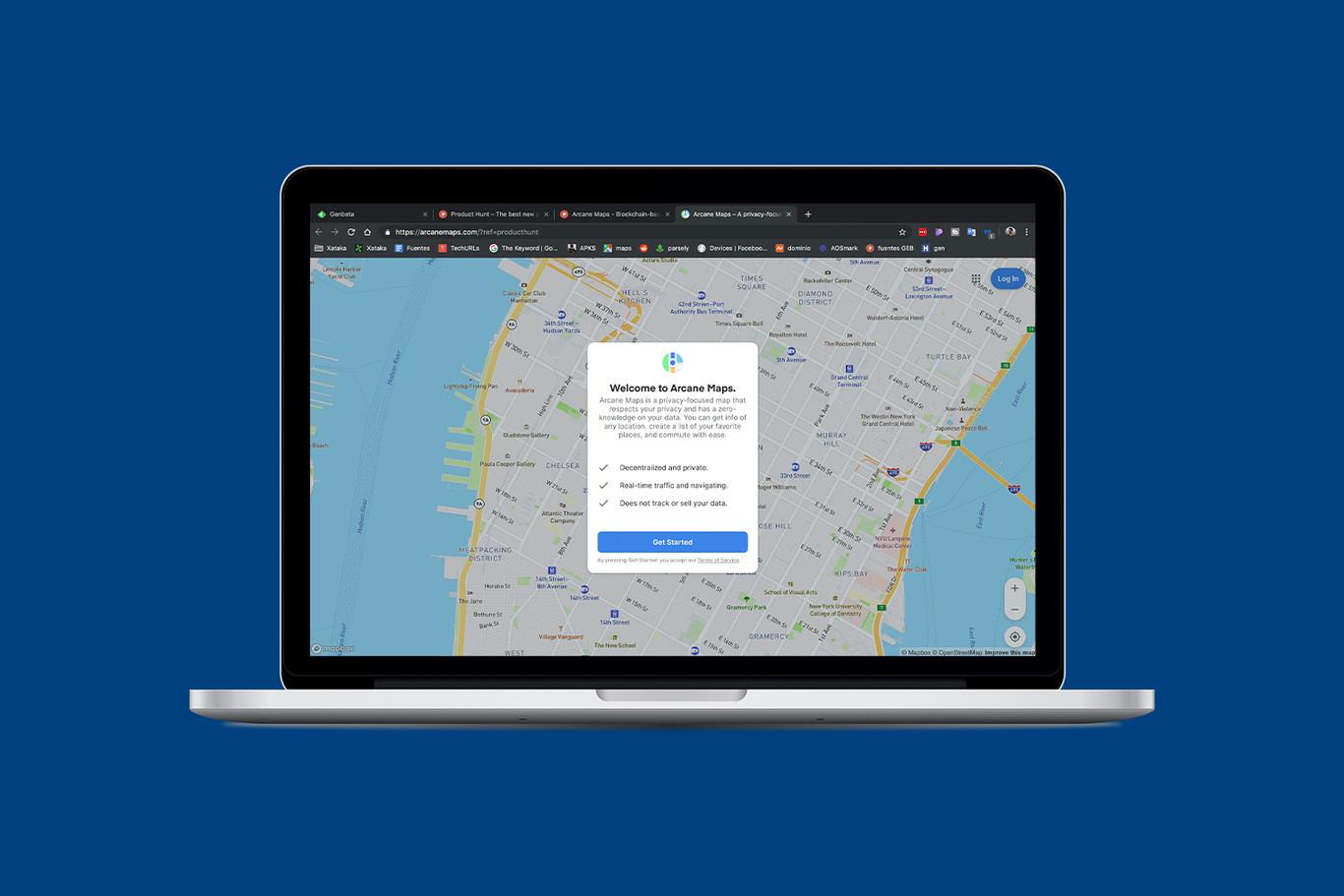 Arcane Maps es una alternativa a Google Maps enfocada en la privacidad y en el diseño