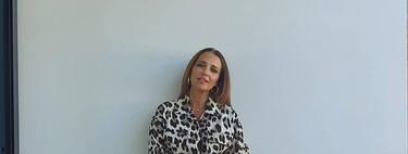 Paula Echevarría eleva al máximo la tendencia del animal print con un conjunto de Mango