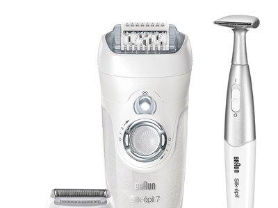 La  depiladora Braun Silk-épil 7 7-561, que funciona en la ducha, cuesta sólo 80,26 euros en Amazon