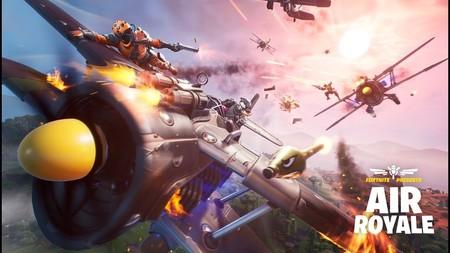 Fornite salta por los aires con Air Royale, un nuevo modo temporal que incluye batallas entre aviones