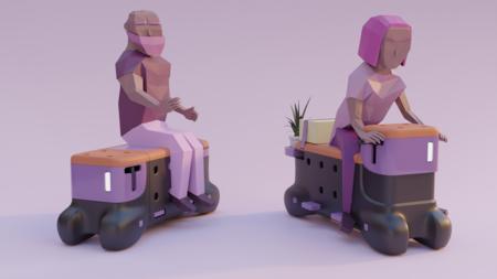 Este banco que se transforma en scooter es la última idea de Ford para ganar movilidad en las grandes ciudades