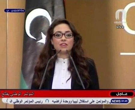 Apoyo en Facebook a la presentadora libia expulsada por no llevar velo