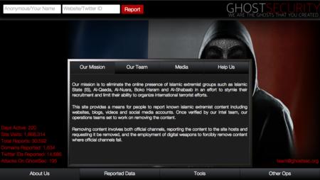 Ghost Security, otro grupo anónimo que lucha contra el ISIS, esta vez, infiltrándose en sus redes