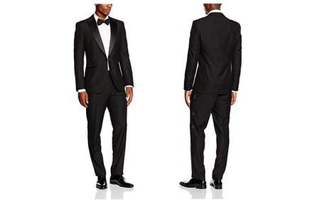 ¿Necesitas un traje nuevo? por 23,99 euros tienes un traje negro para hombre   Maleko Devin en Amazon