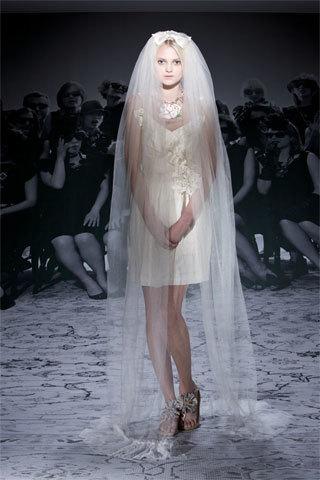 Vestidos de novia alternativos: Lanvin Crucero 2010