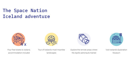 Los premios de Space Nation Navigator
