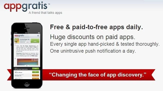 Apple retira la aplicación AppGratis de la App Store