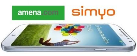 Precios Samsung Galaxy S4 con Amena y Simyo
