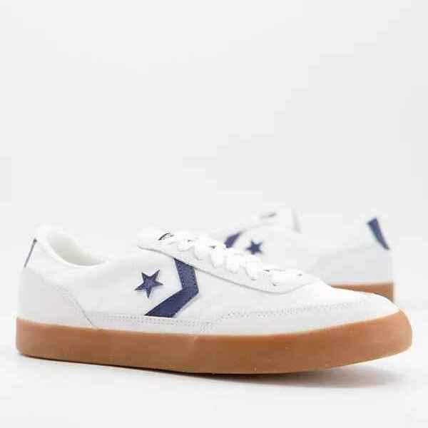 Zapatillas de deporte blancas/obsidiana Net Star Classic de Converse
