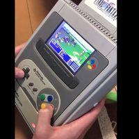 """Quien necesita una Nintendo Switch cuando puedes tener una increíble SuperNES """"portátil"""""""