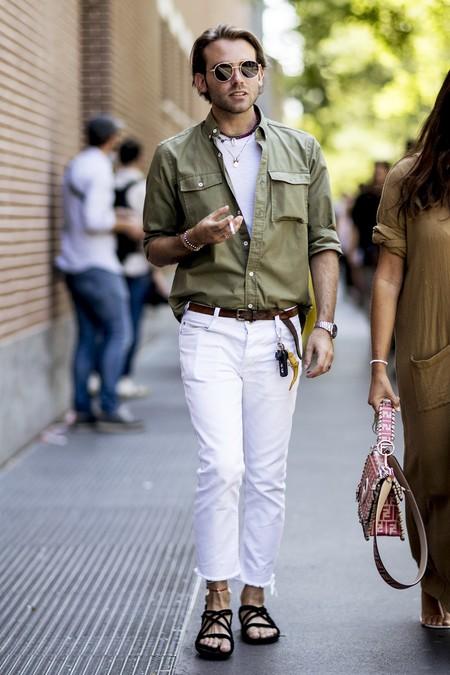 Pantalones Blancos 5