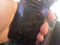 BlackBerry Storm 2 en imágenes