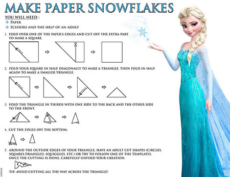 Imprimibles de Frozen para hacer manualidades con niños