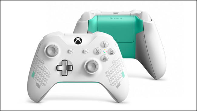 Xbox Wireless Controller Sport White Special Edition 01