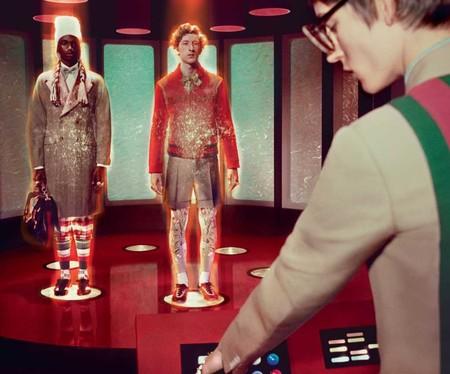Gucci revive la ciencia ficción de los años setenta para su increíble campaña de invierno