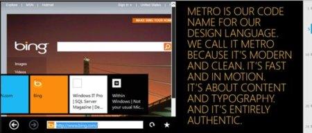 Windows 8 incluirá un lector PDF y una versión de IE para tablets, ambos basados en Metro UI