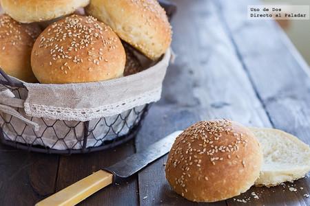 Receta de pan de hamburguesa tierno
