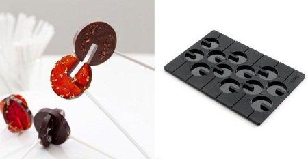 Molde para piruletas 3D