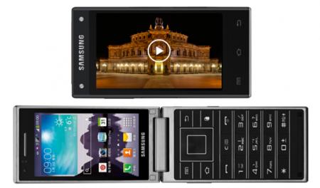 Samsung no se olvida de los teléfonos tipo 'folder' y nos sorprende con un nuevo modelo desde Asia