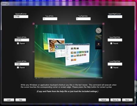 LiveEdge lleva los atajos del teclado a los bordes del escritorio de Windows