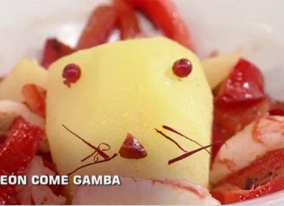León come Gamba: por escenas como esta no veo MasterChef