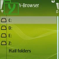 Y-Browser, gestor de archivos para S60