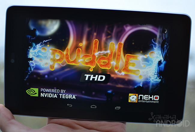 Puddle THD en un Nexus 7