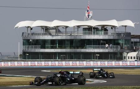 Bottas Hamilton 70 Aniversario F1 2020