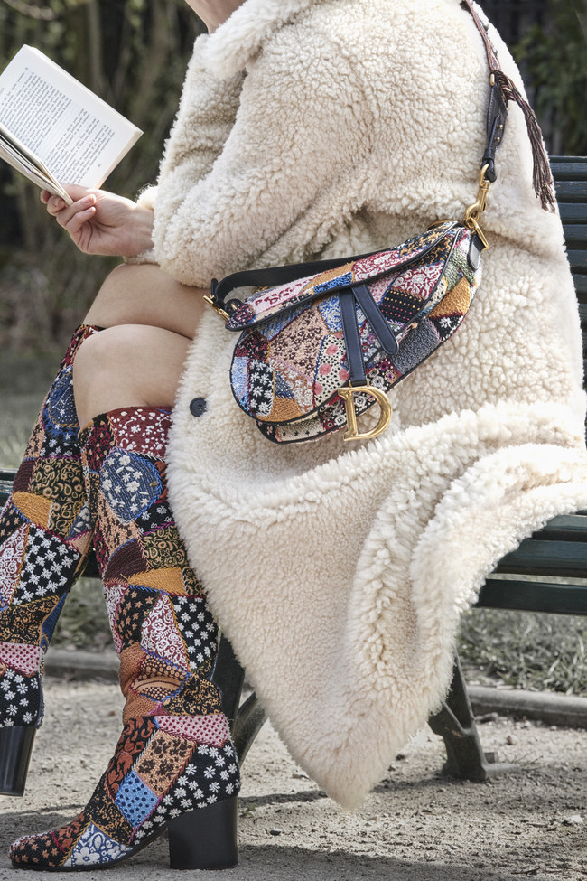4bf8d6e08c2b7 Dior Saddle Bag Autumn Winter 2018 2019 4