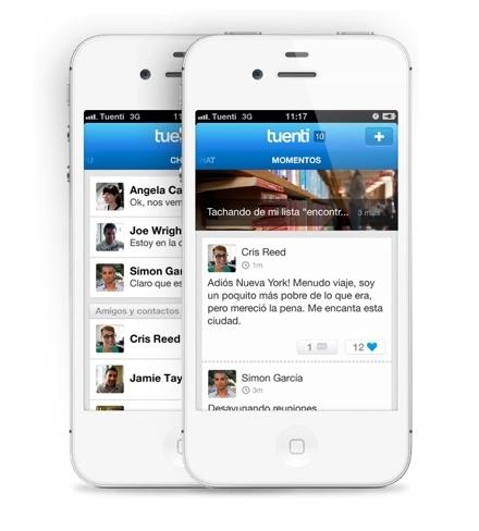 Tuenti estrena su Social Messenger para iOS para transformar sus servicios