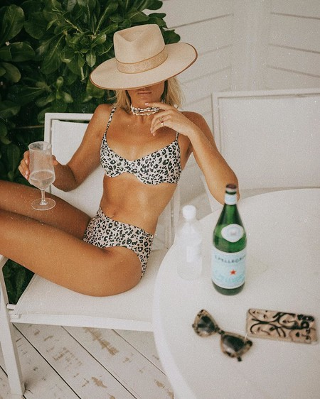 El animal print se ha vuelto a hacer viral en Instagram: 11  bikinis y bañadores de leopardo, tigre, cebra, vaca y serpiente para este verano 2019