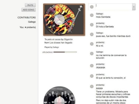 Listening Room: atractivo concepto para escuchar música online en grupo aunque con limitaciones importantes