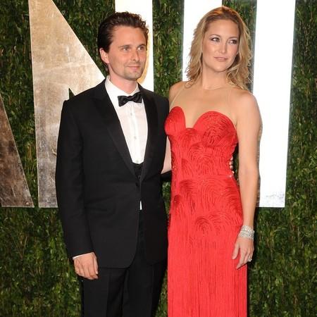 ¿Problemas en el paraíso de Kate Hudson y Matthew Bellamy?