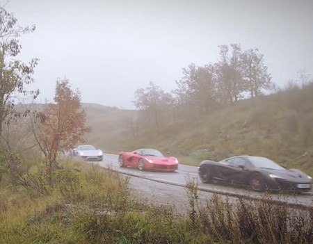 Ferrari LaFerrari vs Porsche 918 Spyder vs McLaren P1, ¡orgásmico!