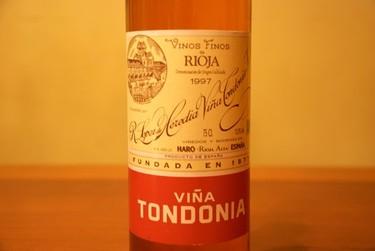 Viña Tondonia rosado 1997. Y deja que pase el tiempo