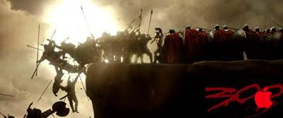 300: Los espartanos utilizan Mac