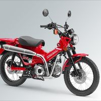 El Honda CT125 mostrará el lado más gamberro y aventurero del Honda Super Cub C125 en el Salón de Tokyo