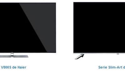 Haier apuesta por el diseño y la calidad de imagen en sus nuevos televisores