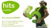 Nueva tarifa de 0 céntimos entre clientes Hits Mobile y 5 céntimos/minuto al resto
