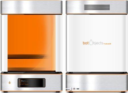 BotObjects es una impresora 3D llegada del futuro