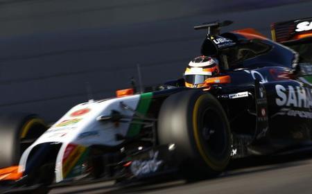 Un resultado satisfactorio para la última carrera del año para Force India