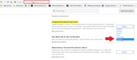 Chrome Nuevo Diseno Material Design
