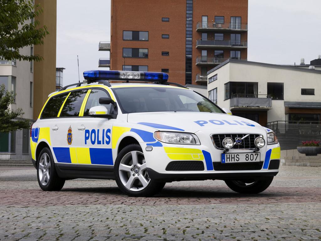 Foto de Volvo V70 para la policía sueca (1/3)
