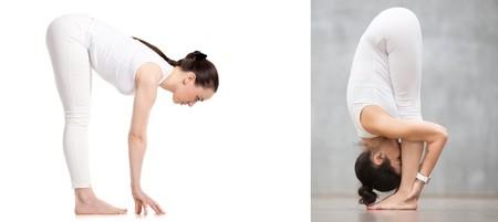 Cómo hacer bien las posturas de la pinza y la media pinza de Yoga