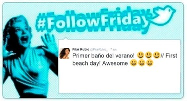 #FollowFriday de Poprosa: Las celebrities ya se broncean al sol